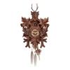 Schwarzwald Kukur, Antikbejdset nøddetræ, Quartz urværk