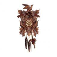 Schwarzwald Kukur, Antikbejdset nøddetræ, 1 døgns mekanisk urværk