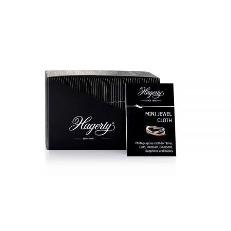 Hagerty Mini Silver & Jewel Cloth, 50 stk.