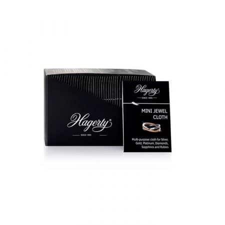 Hagerty Mini Silver & Jewel Cloth, 50 stk.