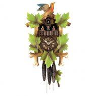 Schwarzwald Kukur, Antikbejdset/malet fyrretræ, 1 døgns mekanisk urværk