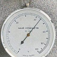 Hygrometer, med ring