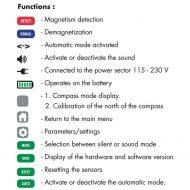 Horotec afmagnetiserings apparat, MSA 19.910