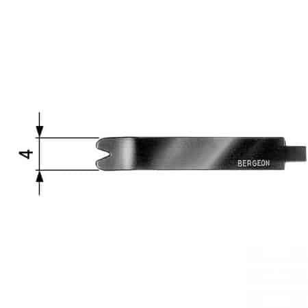Bergeon 7767, remstift værktøj