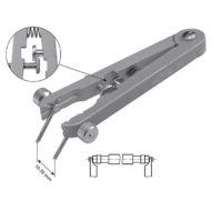 Bergeon 6825, remstift værktøj