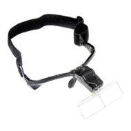 Lup briller, 1x/1.5x/2x/2.5x/3.5x m/LED