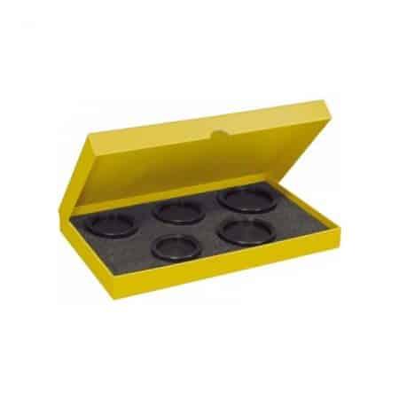 Bergeon 6527-6CP, sæt af konkave bakker i nylon