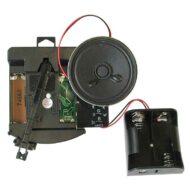 Junghans/UTS W700, radiostyret urværk med pendulsvinger og slag